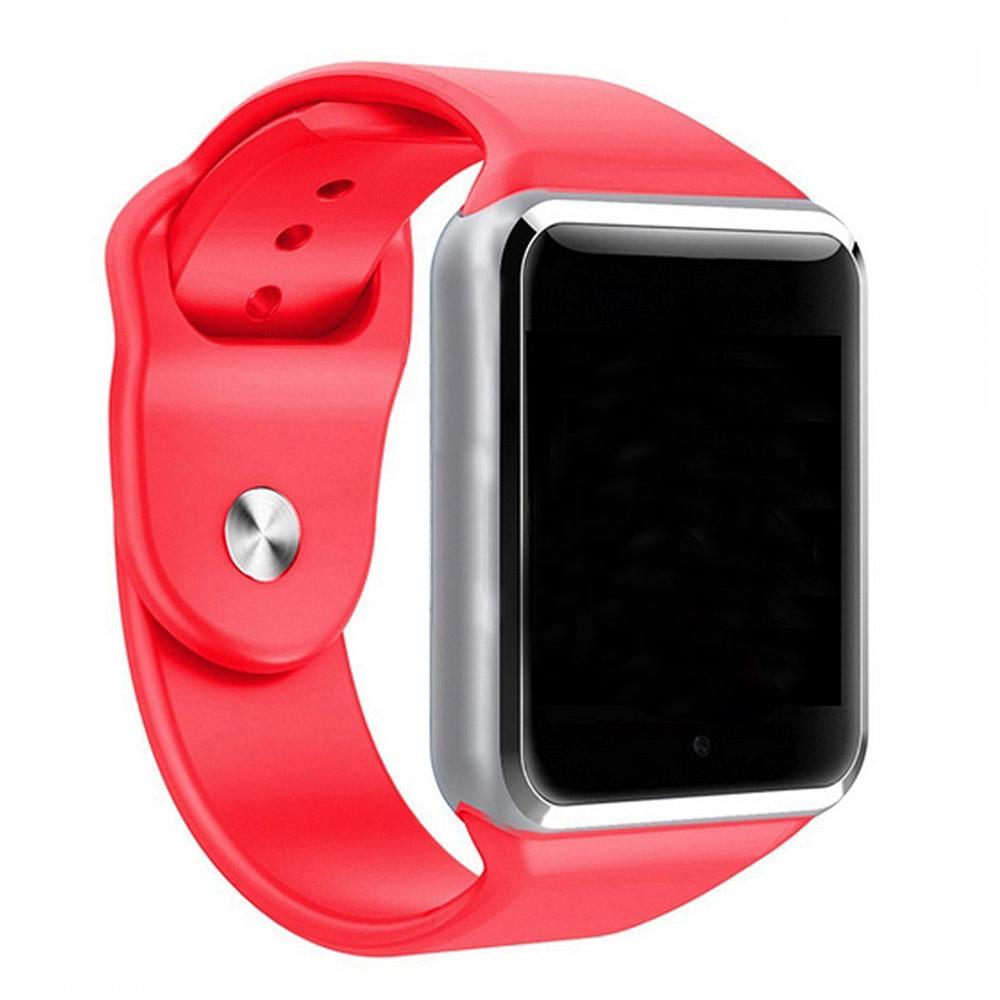 Relogio SmartWatch A1 Bluetooth Camera Celular Chip Cartao Musica - Vermelho