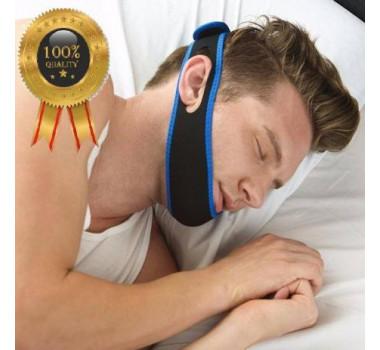 Faixa Anti Ronco Durma Melhor Cabeça Queixo Apneia Ajustavel Neoprene Elástica - Alcateia