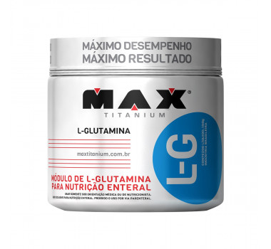 Glutamina L-G 150g - Max Titanium